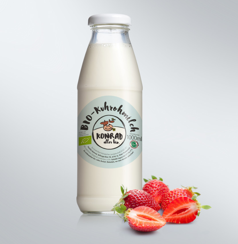 labeldesign milch konrad