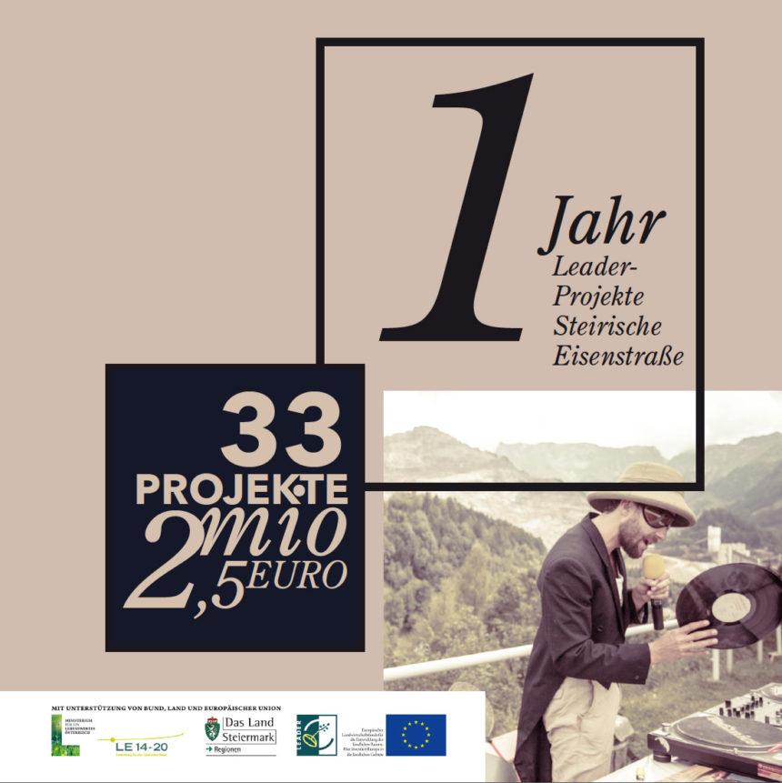 leader projekte steieirsche eisnestraße broschüre