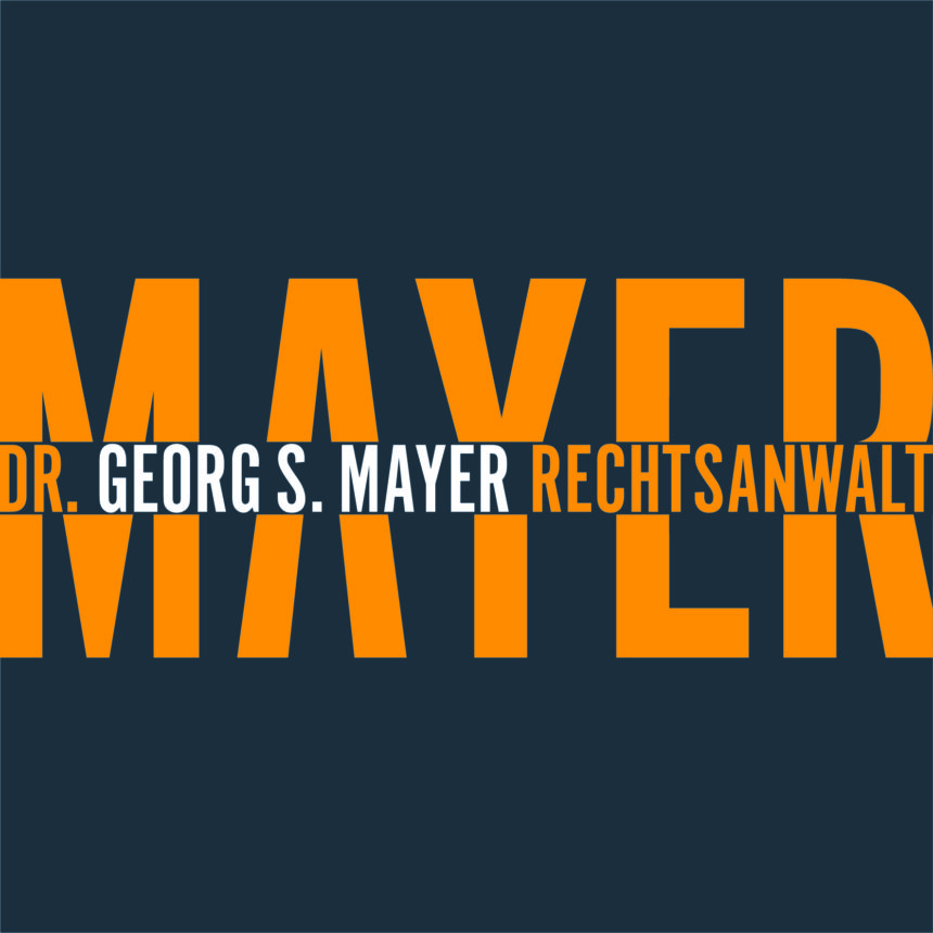logo, corporate design ra georg s. mayer