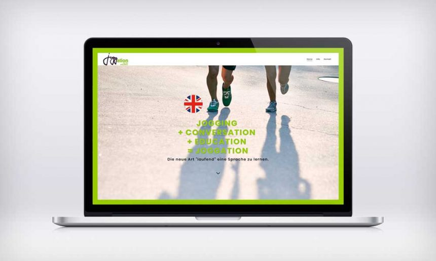 joggation homepage