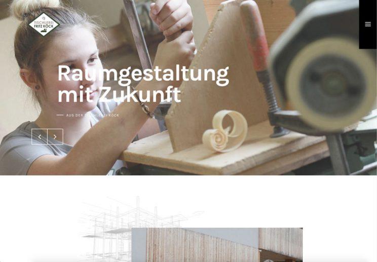 tischlerei köck webseite